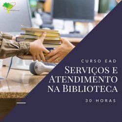 Serviços e atendimento na biblioteca